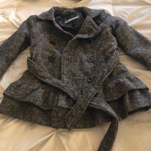 Dark grey girls dress coat 4T
